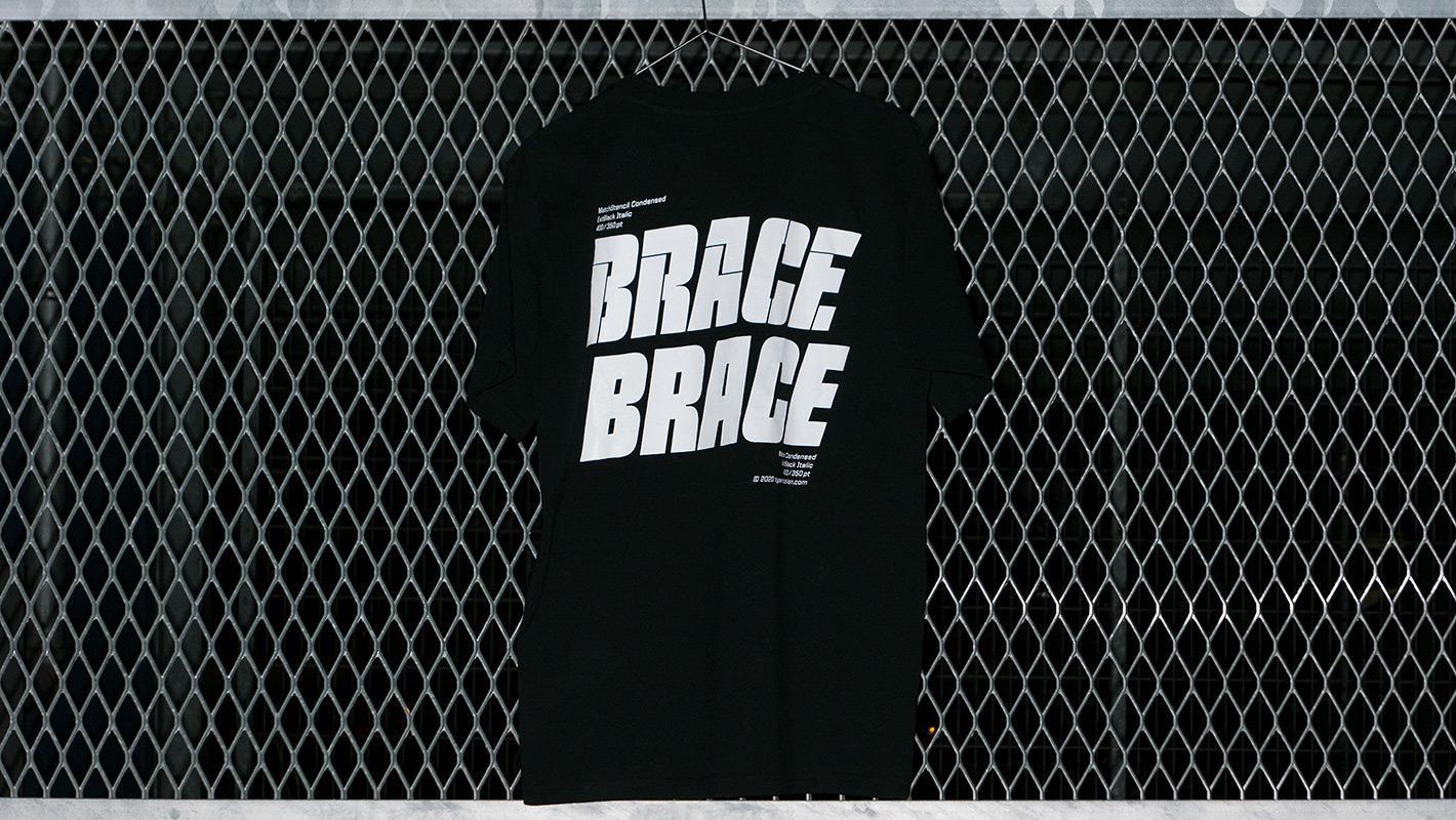BRACE BRACE black