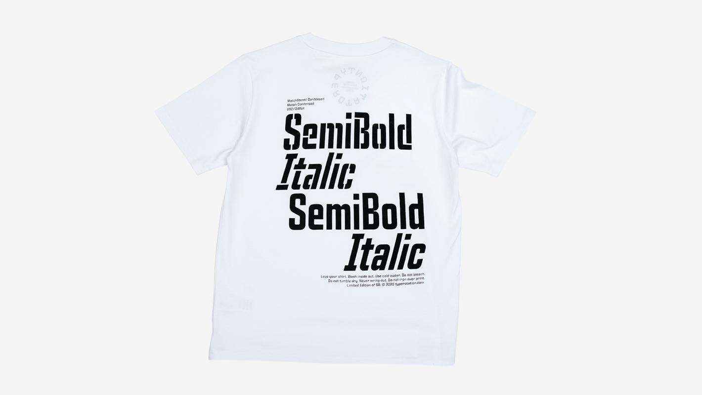 SEMIBOLD white