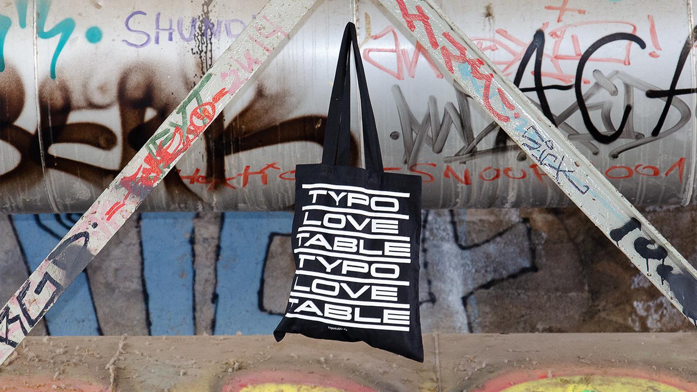 Typotable goody bag