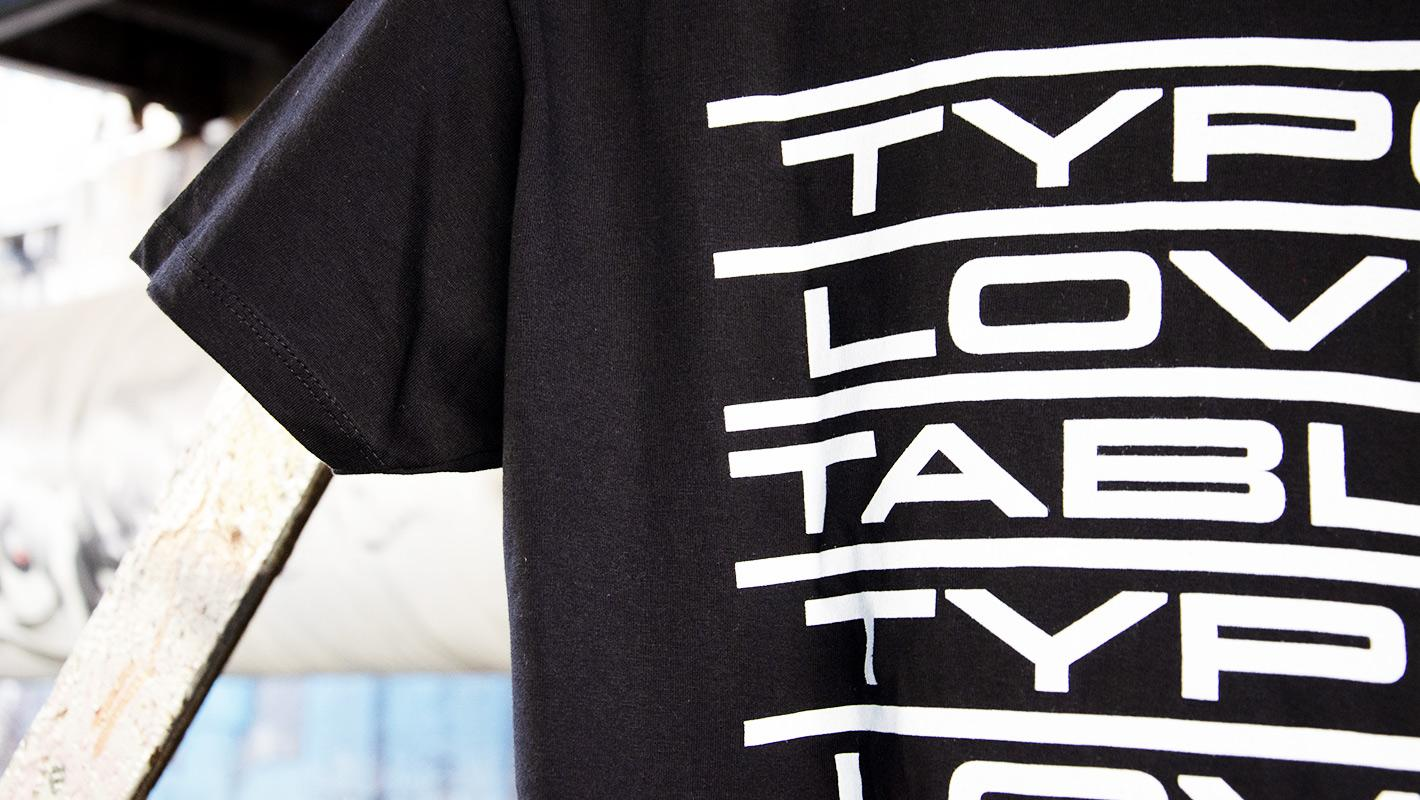 Typotable Shirt