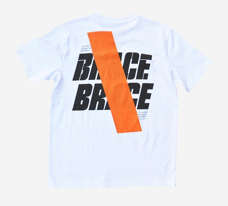Misprint BRACE BRACE white (S)