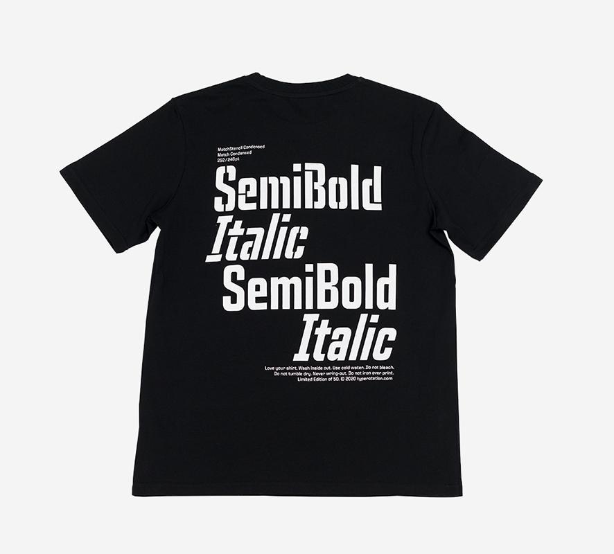 SEMIBOLD black